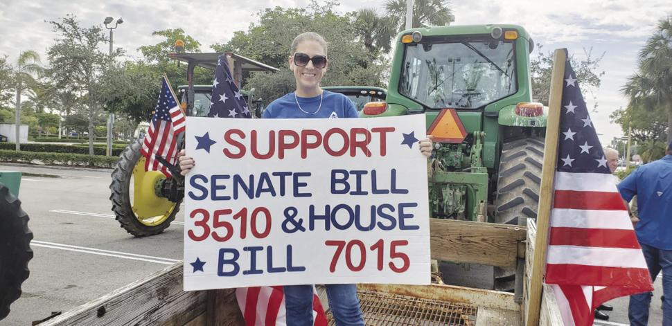 Farmers rally for senate bills 3510 and 7015