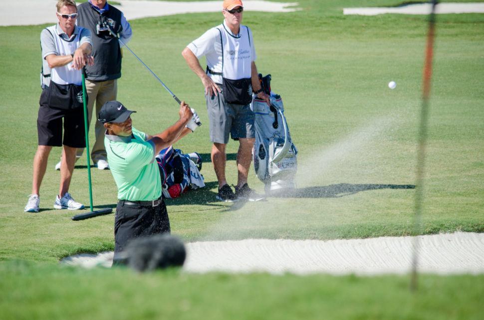 Tiger Woods Sand Trap