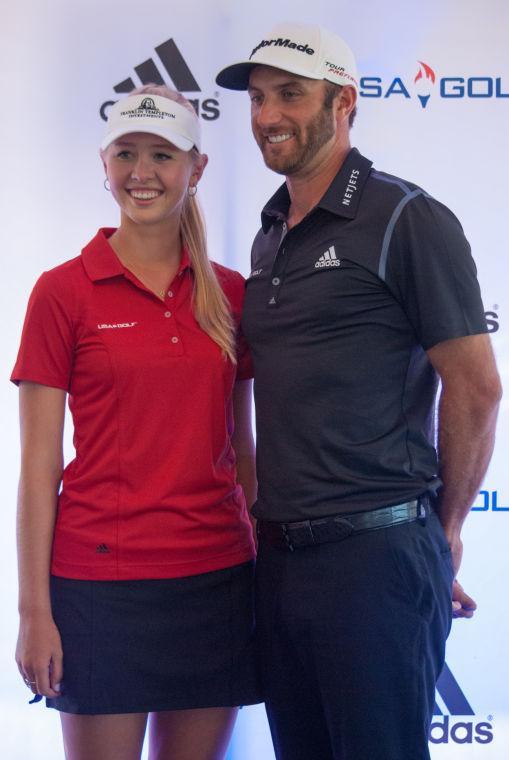 Jessica Korda & Dustin Johnson Adidas