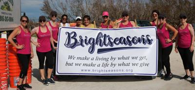 Just a few of the Bright Seasons Women helping with hurricane relief in the lower Keys.