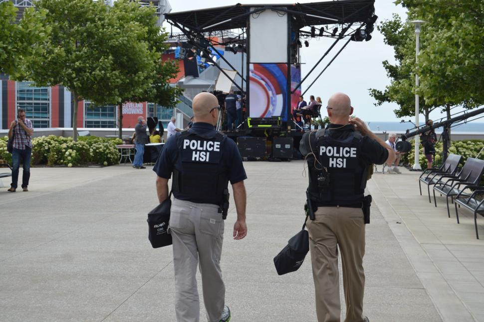 RNC Convention in Cleveland - Police