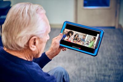 Touch screen  tablets from iN2L will make person-centered content easily available to senior living  residents with Alzheimer's and  dementia