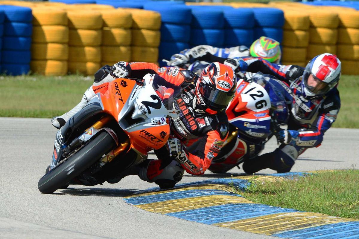 CCS Motorcycle Road Racing at Homestead.