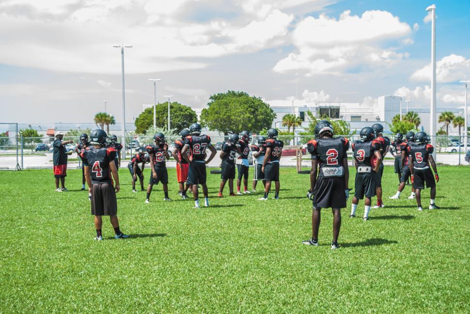Southridge Practice - Entering the Field