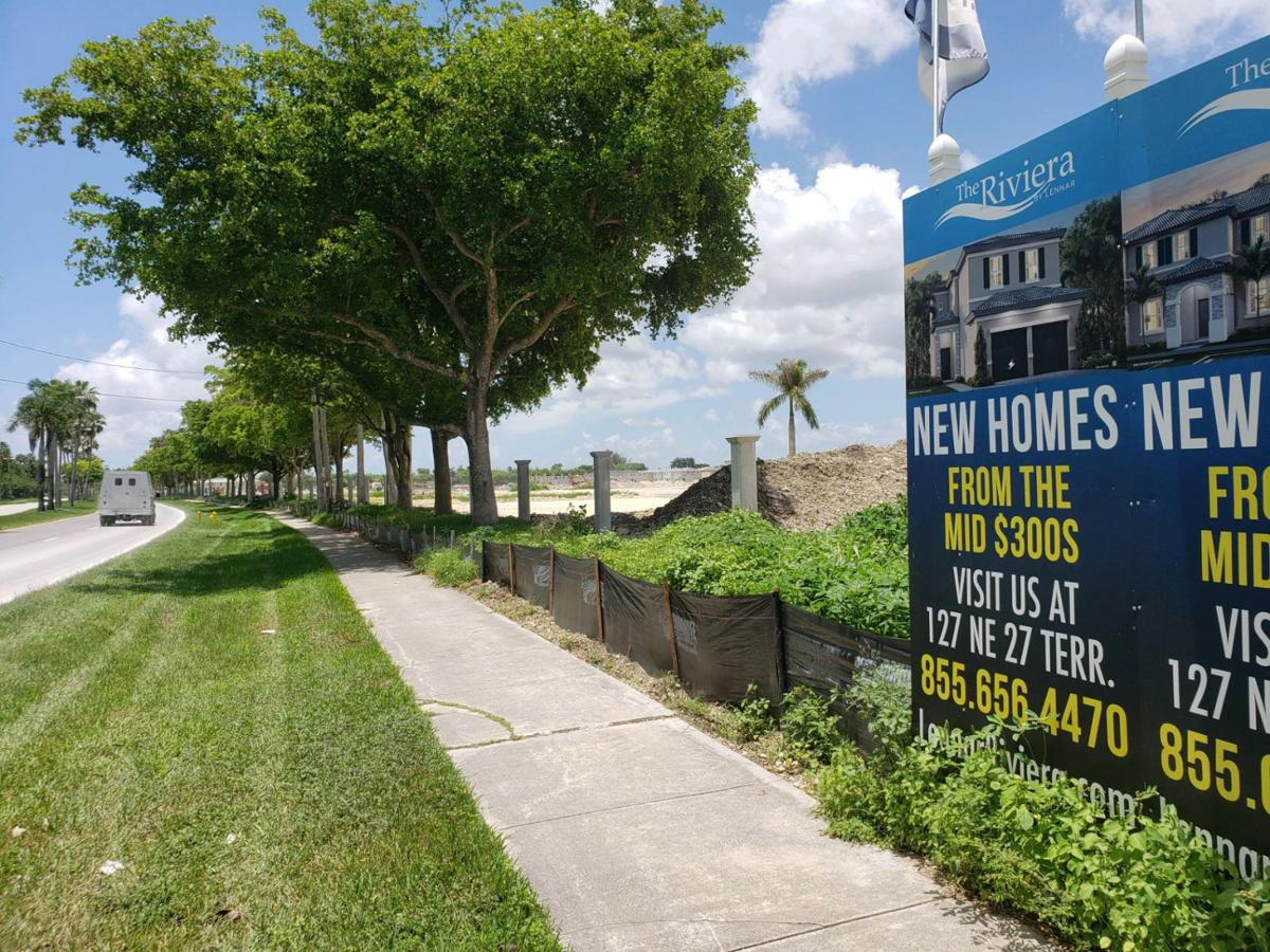 85 acre parcel composed of 770 residences west of Kingman Road between South Canal and Palm Drives