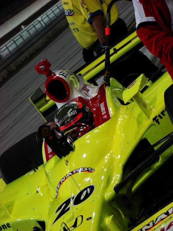 IndyCar Testing Ed Carpenter