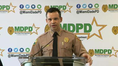 New Miami Dade Police Director Freddie Ramirez