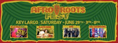 Afro Roots Fest in Key Largo, June 29