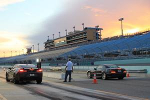 A gorgeous night for Fast Lane Friday