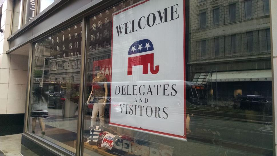 RNC Convention in Cleveland - Welcome Delegates