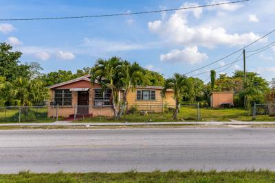 The Lee house in Florida City was once part of a larger neighborhood.