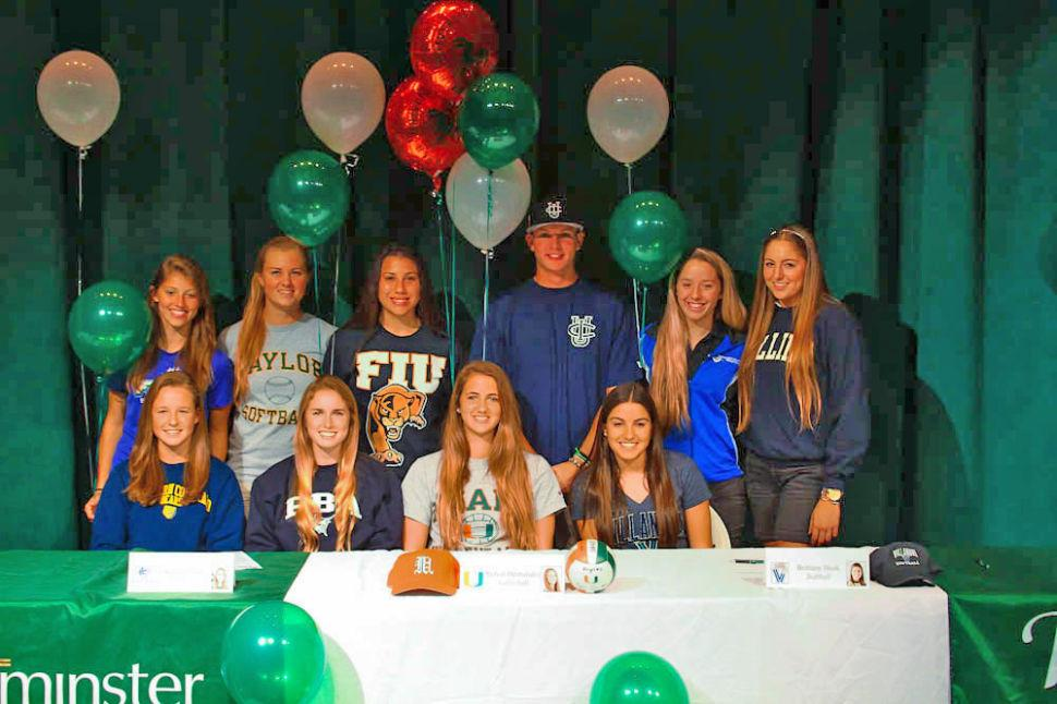 Westminster Fall Signings 2013