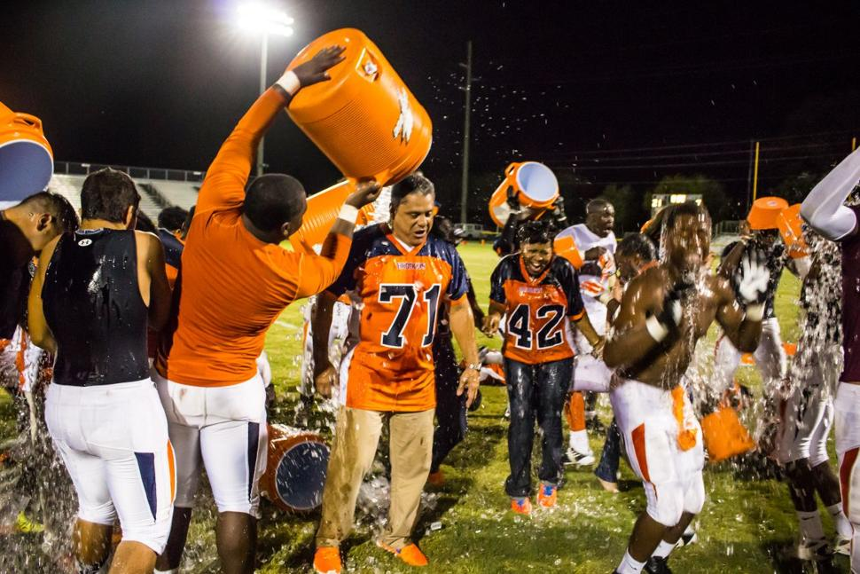 Homestead v Ferguson Ice Bucket Challenge
