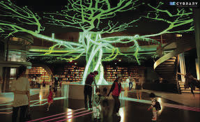 Artists rendering of the proposed Cyber Library