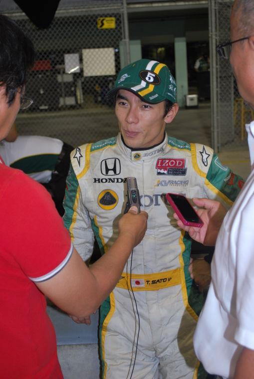 IndyCar Series Takuma Sato