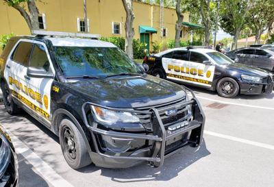 Florida City Police at City Hall