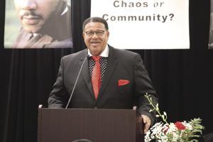 Keynote Speaker Reverend Dr. Alphonso Jackson, Sr of  New Shiloh Baptist Church.