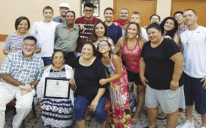 El Toro Taco Family Matriarch Estefana Hernandez  celebrated 41 years in business with her happy family.
