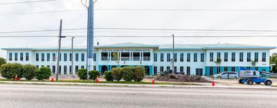 The College of the Florida Keys (CFK) Upper Keys Center opened Aug 9, 2021 in Key Largo (MM106).