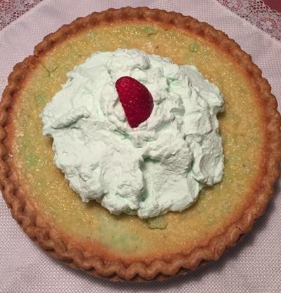 St. Patty's Green Grits Pie