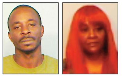 From left:  Travis Jermaine Gamble, 38, of Florida City and Latoiya Cecole Allen, 46 of Key West, face drug charges.