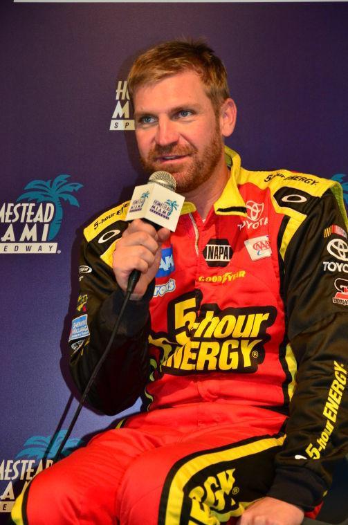 NASCAR Testing Clint Bowyer