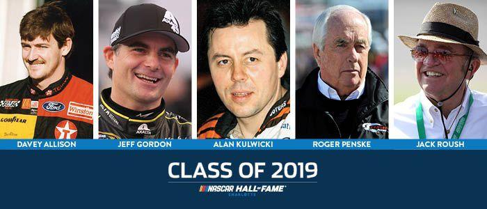 NASCAR Hall of Fame Class of 2019