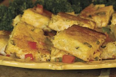Crustless Seafood or Vegetable Appetizer