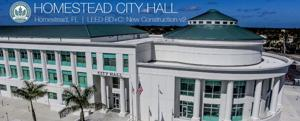 Homestead City Hall's recent construction certified as LEED BD+C