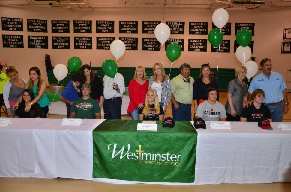 Westminster Signees 2013