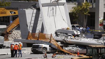 FIU bridge collapse killed six people.