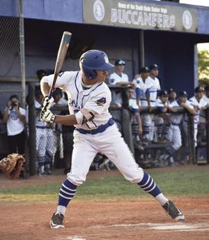 Willie Escala at the plate