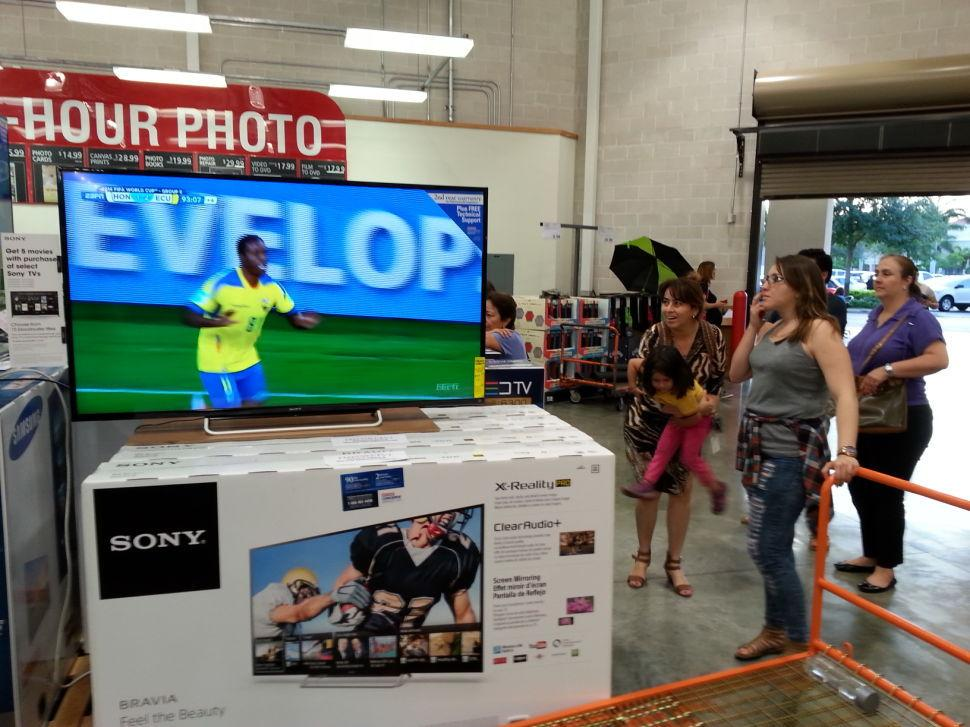 World Cup Costco Viewers