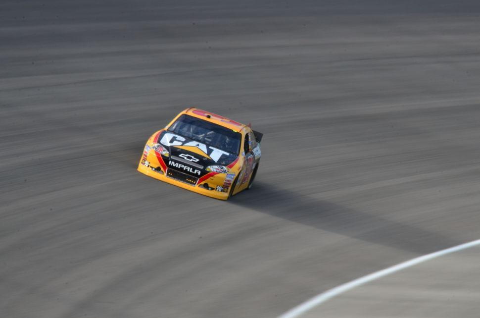 Ford 400 Practice Jeff Burton