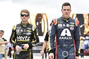 Hendrick's Motorsports drivers William Byron  and Alex Bowman.