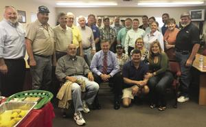 Dade County Farm Bureau Board of Directors with Bob Epling at his Farewell Luncheon