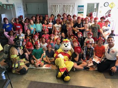 Monroe County Fire Rescue is doing outreach programs for Fire Prevention Week county schools and daycares. Last year, Monroe County Fire Rescue and Sparky the Fire Dog joined students at Ocean Studies Charter School in Tavernier.