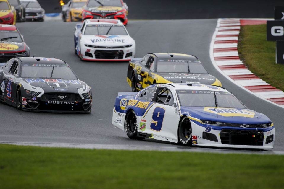 Chase Elliott has won four straight road course races.