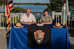Biscayne National Park Institute signing