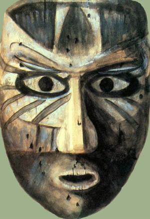 Calusa Indian Mask