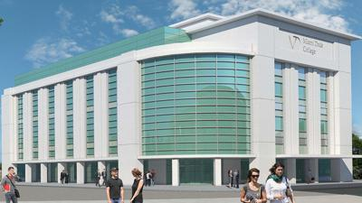Artists rendering of Miami Dade College's Student Success Center.