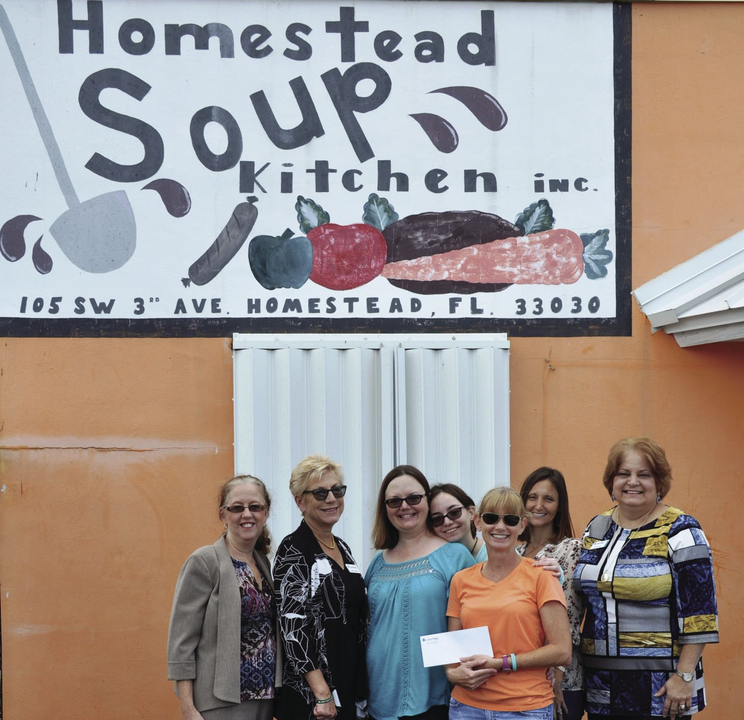 Ordinaire Picture At The Soup Kitchen (from Left): Gail Copa, Admin Assistant CSB,  Bette Brown, Area Executive CSB, Lynn Guadamuz, Customer Care CSB, Emma  Guadamuz, ...