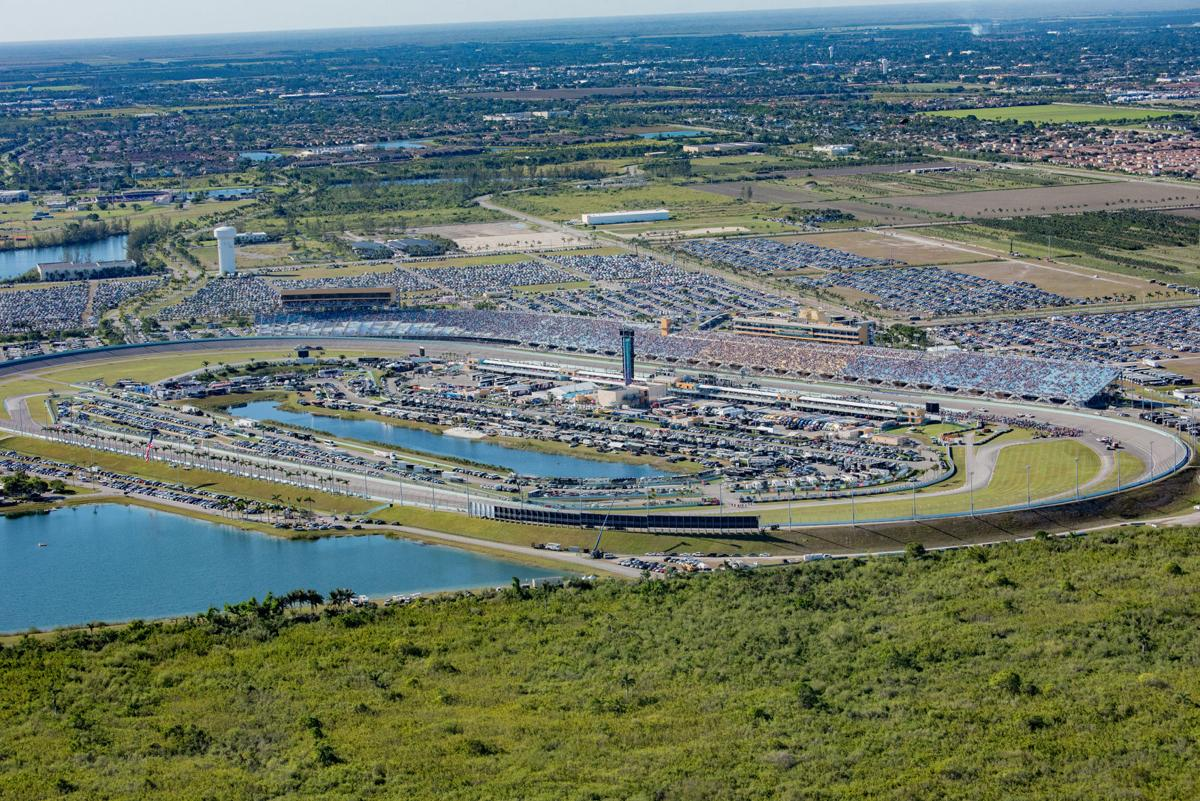 Homestead-MiamiHomestead-Miami Speedway anchors southernmost South Dade, surrounded by 100's of acres of open space.
