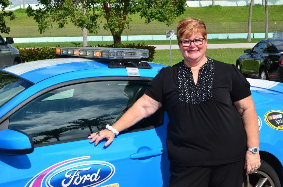 Doris & NASCAR Pace Car