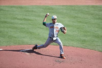 Canes pitcher Alejandro Rosario had a great start.