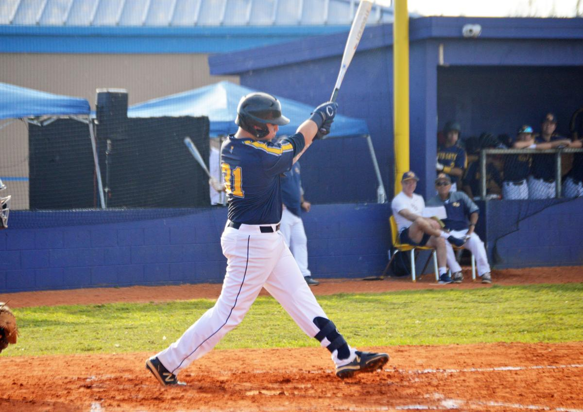 Austin Yeber had two hits, driving in three runs.