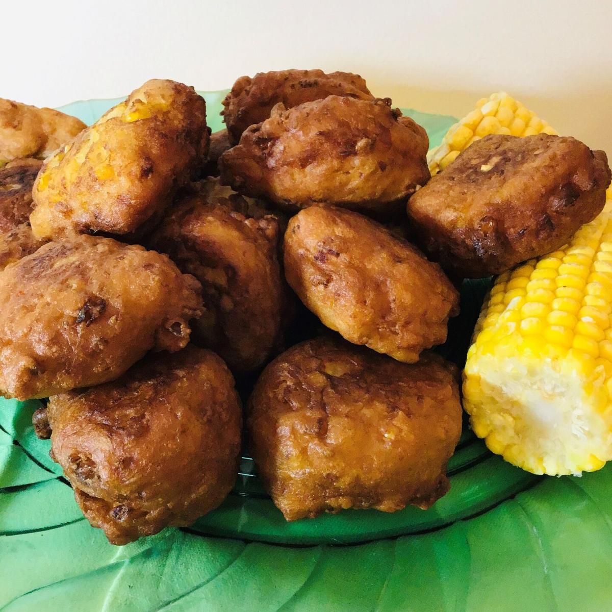 Golden Corn Fritters