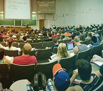 Class at University of Florida