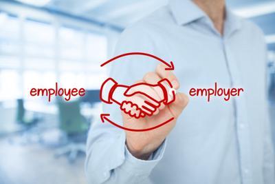 Employee and employer