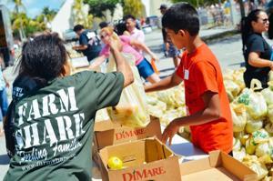 Farm Share Community Distribution